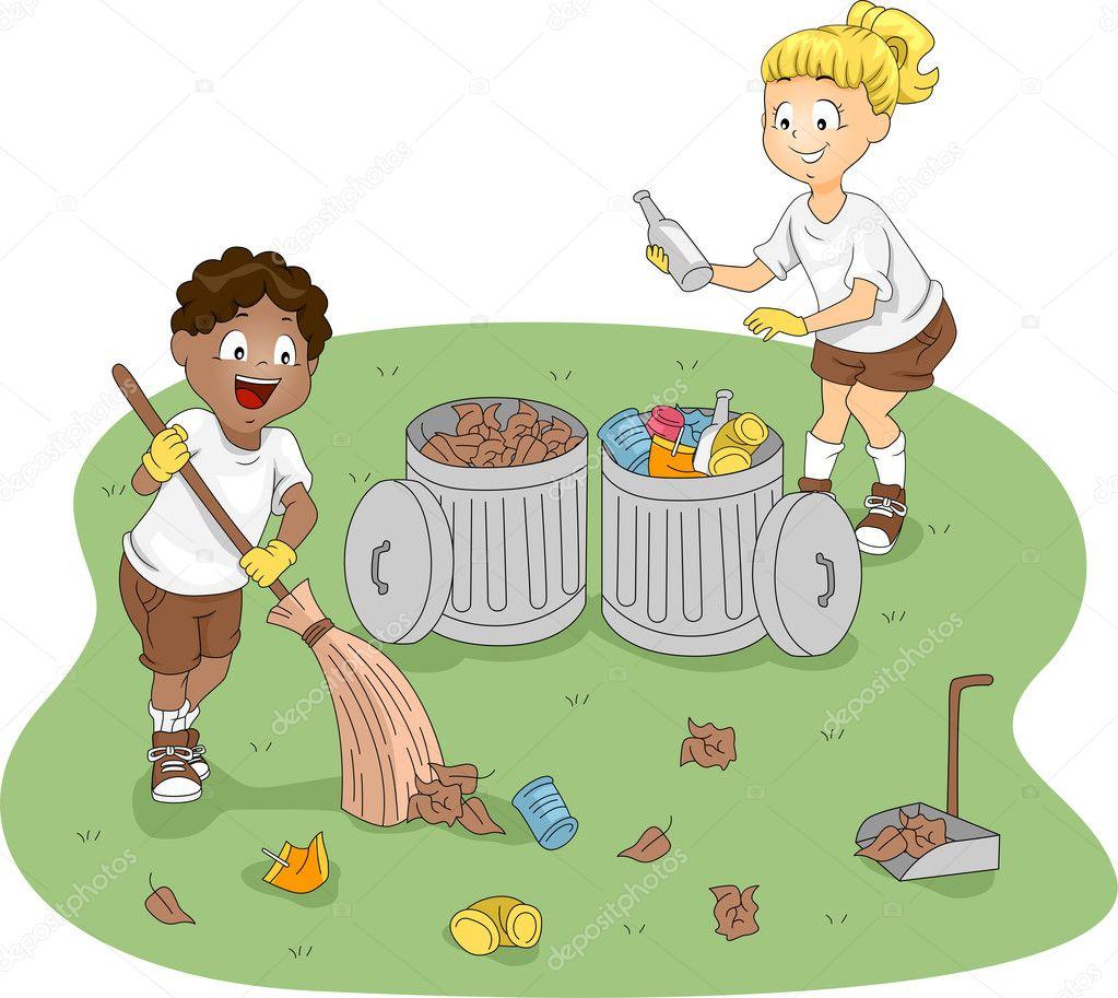 рисунок не мусори во дворе обязательно демонстрирует все
