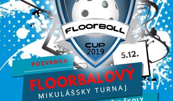 Pozvánka na Mikulášsky floorbal