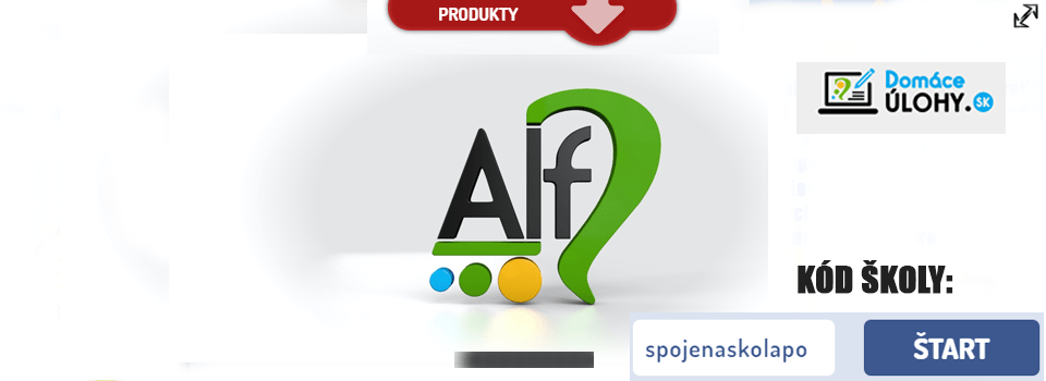 Domáce úlohy cez program ALF