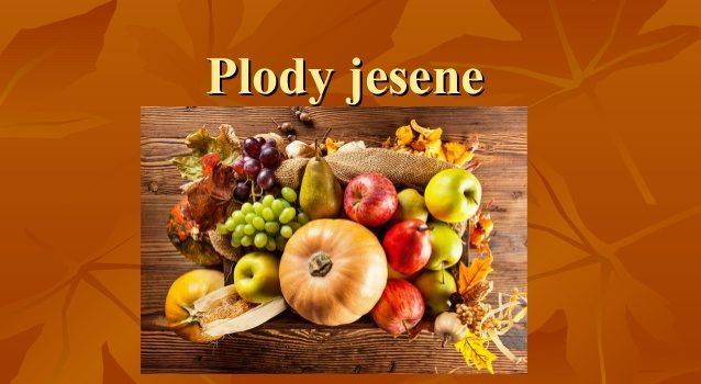Plody zeme v jeseni